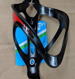 49N 49N Aero Bottle Cage - Blk/Red