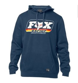 FOX FOX THROWBACK PULLOVER FLEECE HOODIE