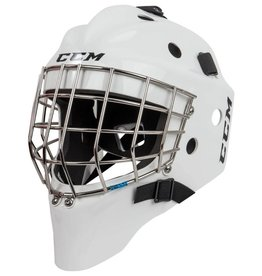 CCM Hockey CCM 1.5 GOALIE MASK JUNIOR WHITE