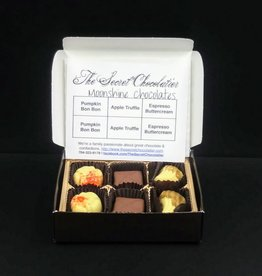 Secret Chocolatier Moonshine Truffles (Autumn) [6 pieces]