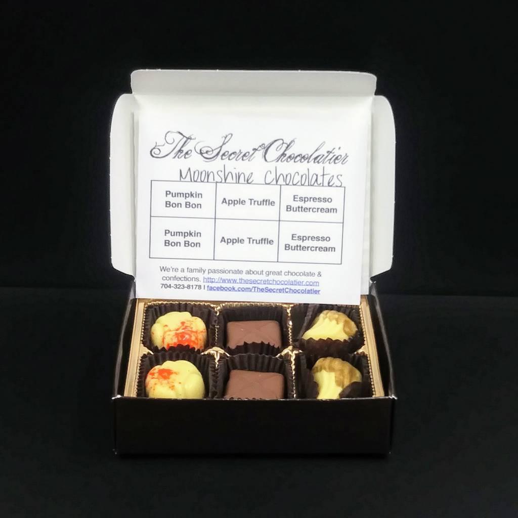 Secret Chocolatier Moonshine Truffles (Autumn) [6 pieces]
