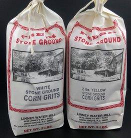 Linney Water Mill Corn Grits  (2lbs)