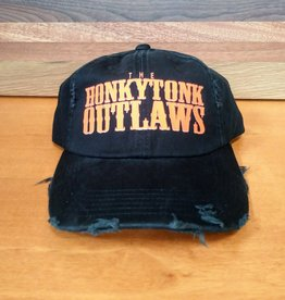 HonkyTonk Outlaws Distressed Cap