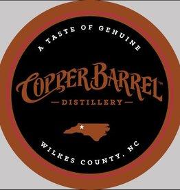 "Copper Barrel Round 3.5"" Decal Black"