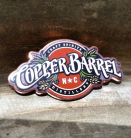 Copper Barrel Distillery Copper Lapel Pin