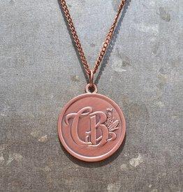 Copper Barrel Distillery Necklace
