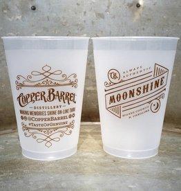 Copper Barrel 12 oz Cup