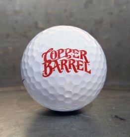 Copper Barrel WIlson Golf Ball