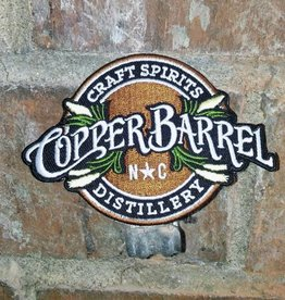 Copper Barrel Distillery Embroidered Patch