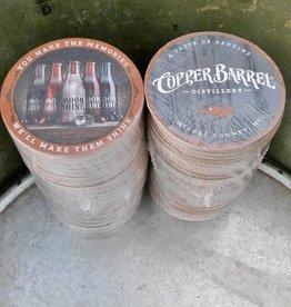 Copper Barrel Distillery Paper Coasters - 'Memories' [60pt]