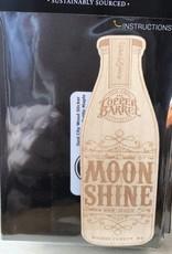 Wood Sticker - Moonshine Bottle [Maple]