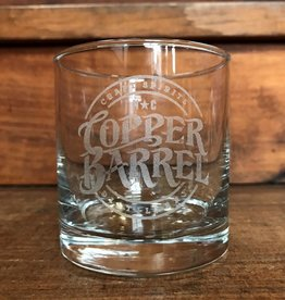 Copper Barrel Distillery Laser-Etched Glass [Lexington] (10.25 oz)