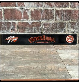 Copper Barrel Distillery Bar Mat [Black] (Rail)