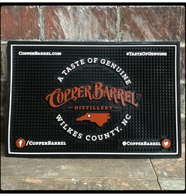 Copper Barrel Distillery Bar Mat [Black] (Service)