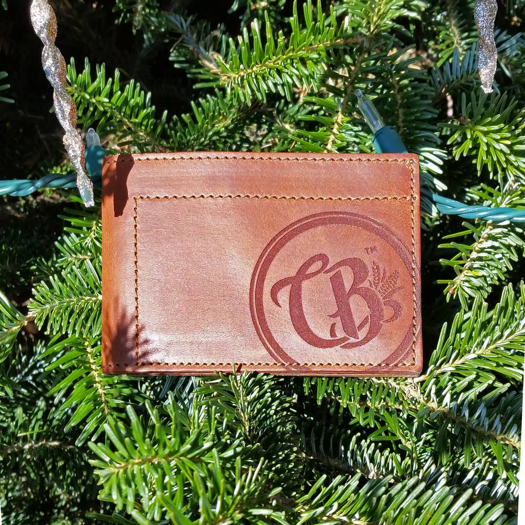 Copper Barrel Distillery Copper Barrel Leather Wallets [Brown] {Bi-fold}