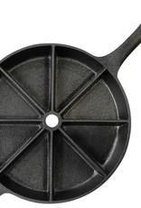 Cast Iron Skillet [Wedge Pattern]