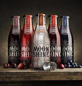 Copper Barrel Distillery Postcard (Moonshine Bottles)