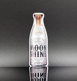Copper Barrel Distillery Moonshine Sticker [White Lightning]