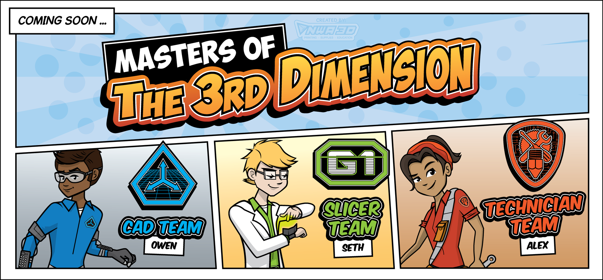 Coming Soon: Masters of the 3rd Dimension