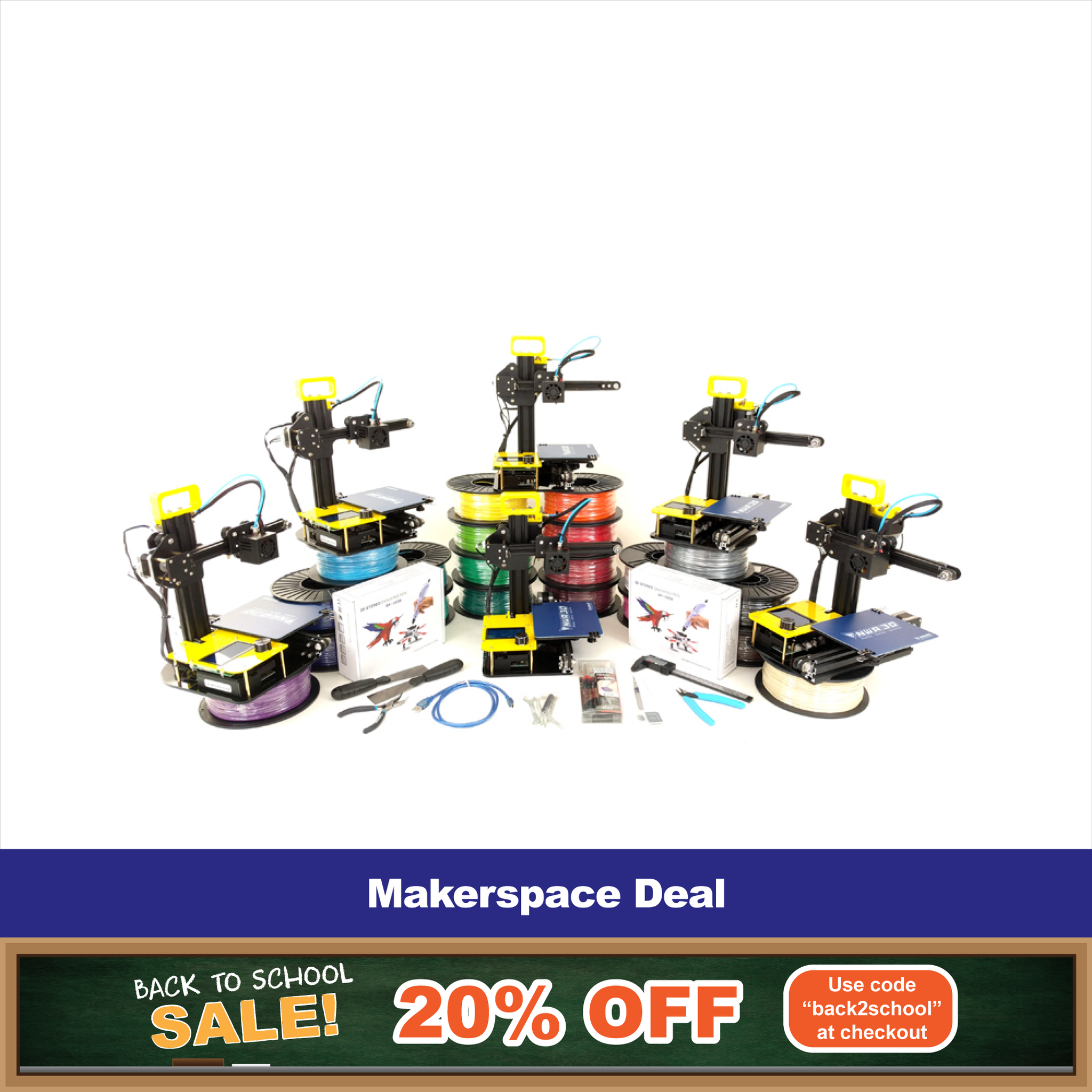 Makerspace Deal 20% Off