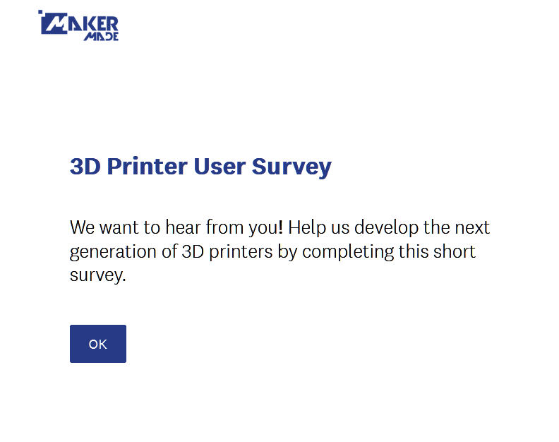 3D Printer User Survey