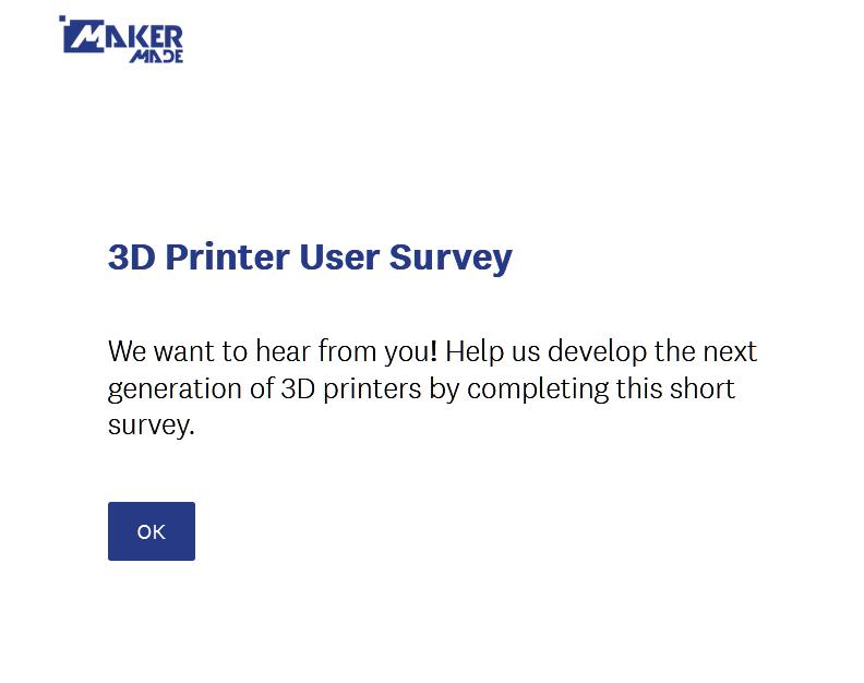 3D Printer User Survey