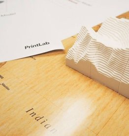 PrintLab Classroom: Make a 3D Contour Map Model