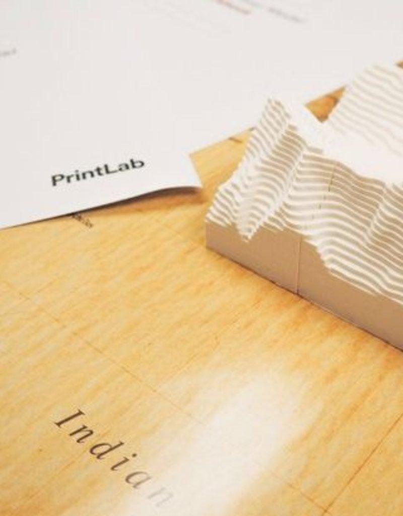 PrintLab Classroom: Make a 3D Contour Map Model