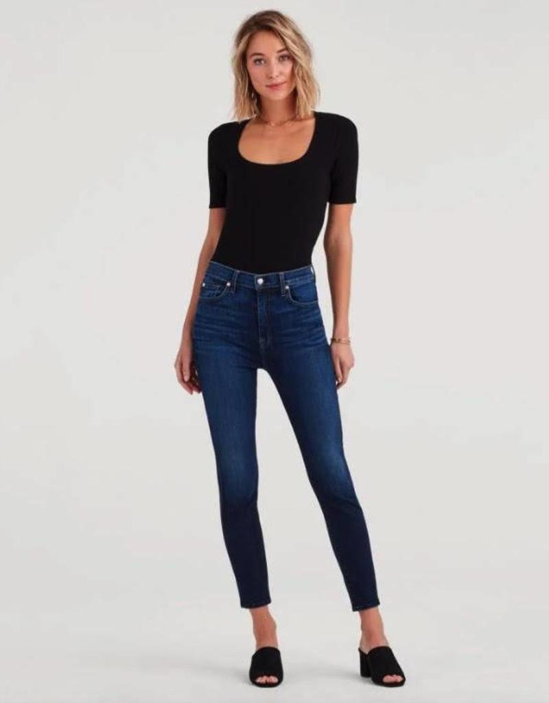 7 For All Mankind Aubrey Ankle Skinny - Fate