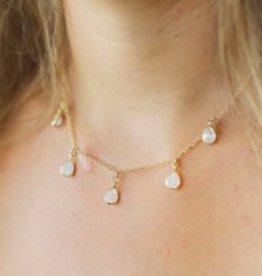 Joy Dravecky Teardrop Shaker Necklace