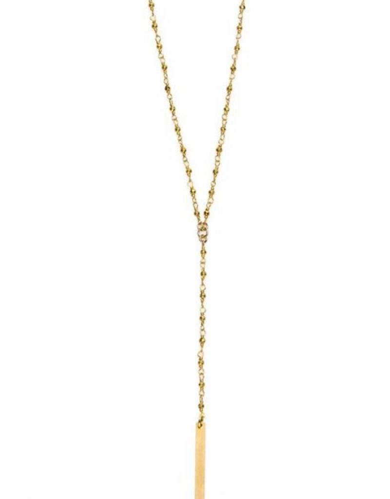 Joy Dravecky Long Y Necklace
