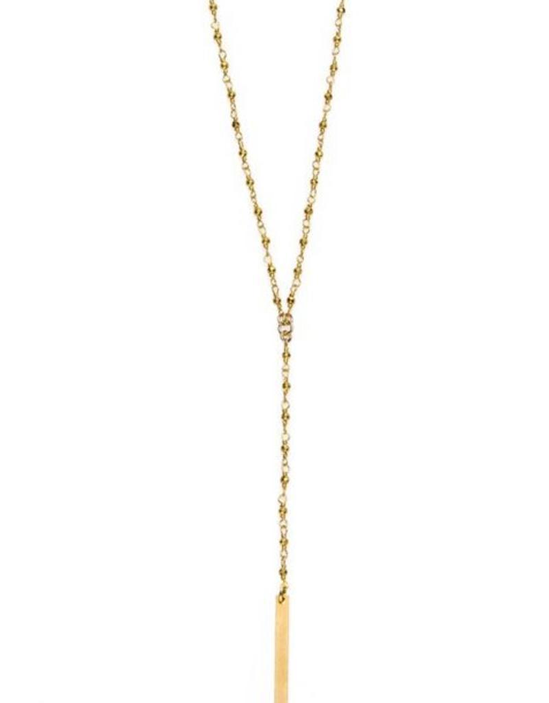 Joy Dravecky Long Y Necklace