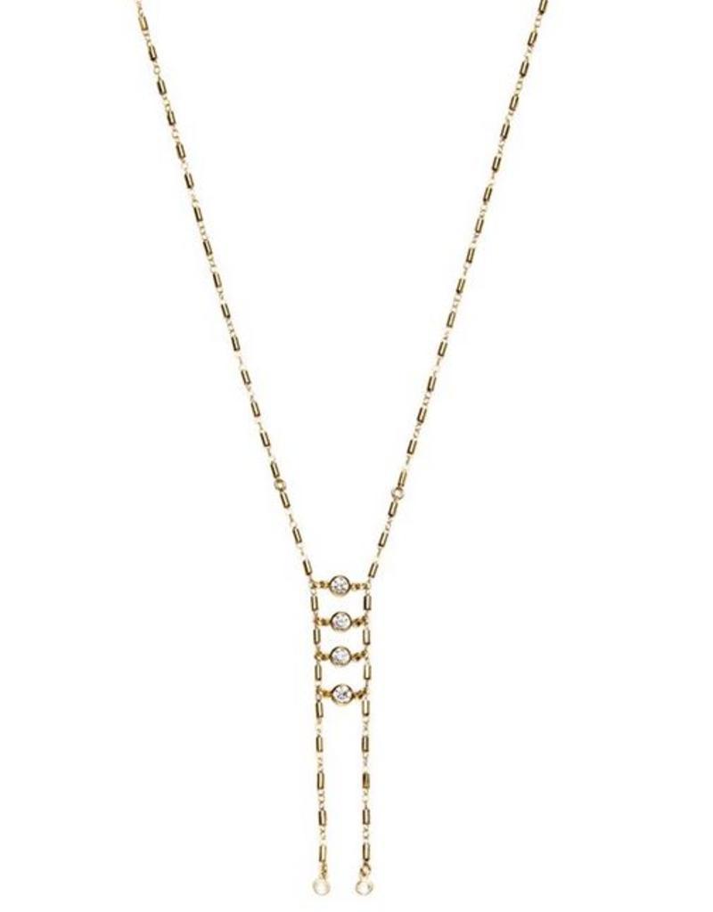 Joy Dravecky Take A Chance Ladder Necklace