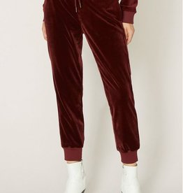 Sanctuary Velour Track Jogger