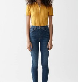 AGOLDE Roxanne Super Highrise Skinny - Freeway