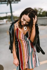 Karlie Wrap Front Dress