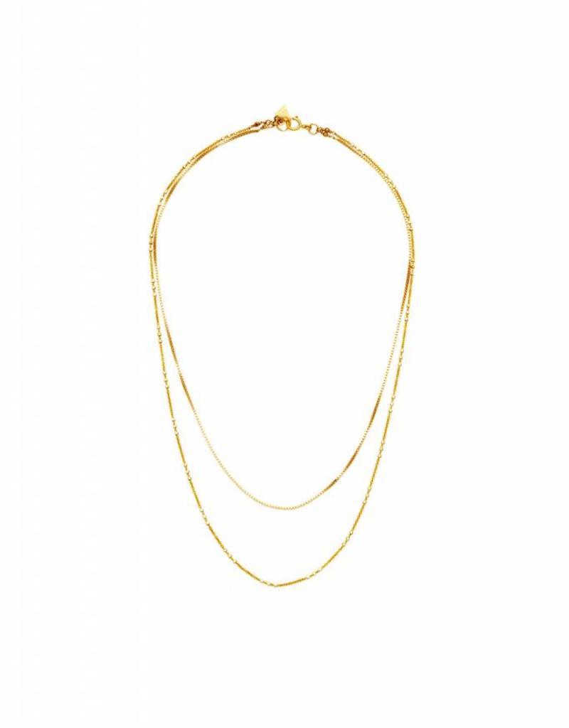 Joy Dravecky Eternal Layered Necklace