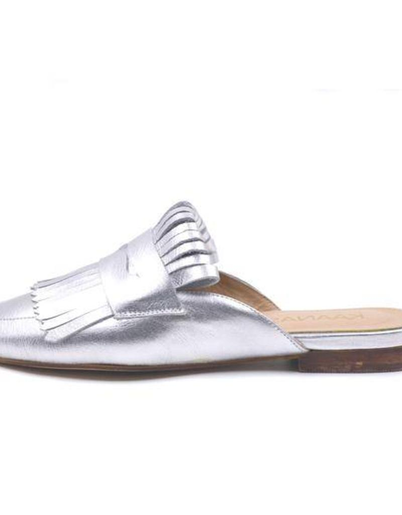 Kaanas Lucca Silver Loafer