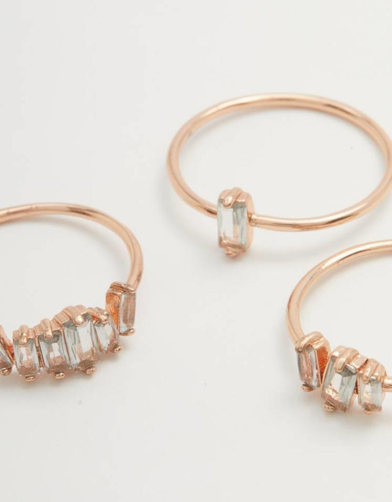 Gorjana Amara Ring Set