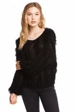 Chaser Cropped Wide Neck Sweater