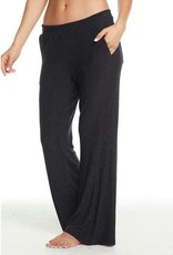 Chaser Cozy Knit Wide Leg Track Pant