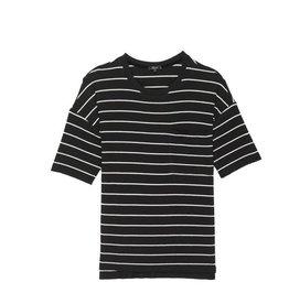 Rails Micah - Black White Stripe