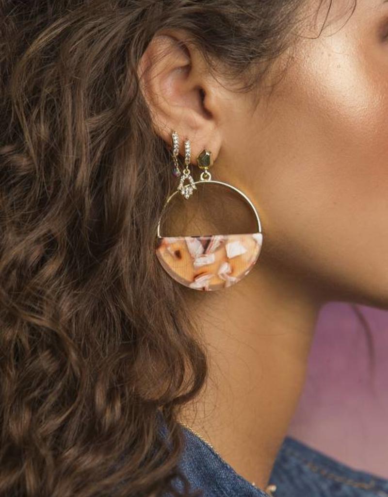 Rory Ashton Tortoise Earring