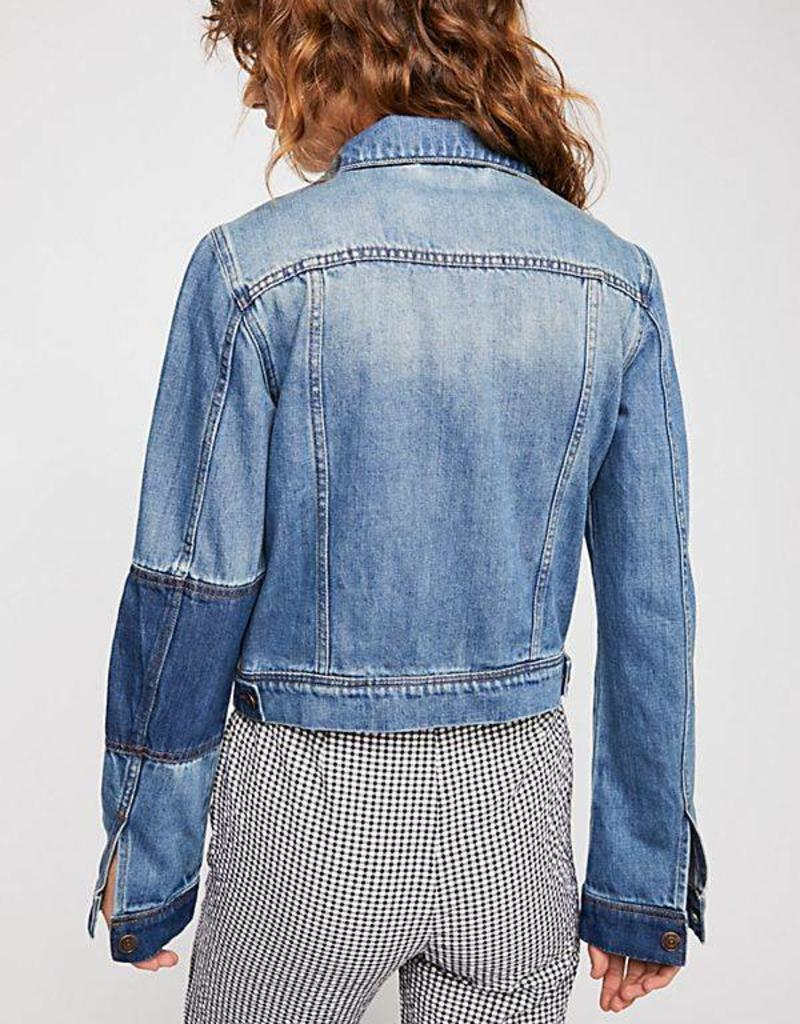 Free People  Rumors Denim Jacket