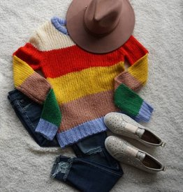 English Factory Multicolor Knit Sweater