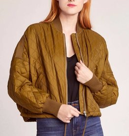 Jack by BB Dakota Girl Friday Quilted Bomber Jacket