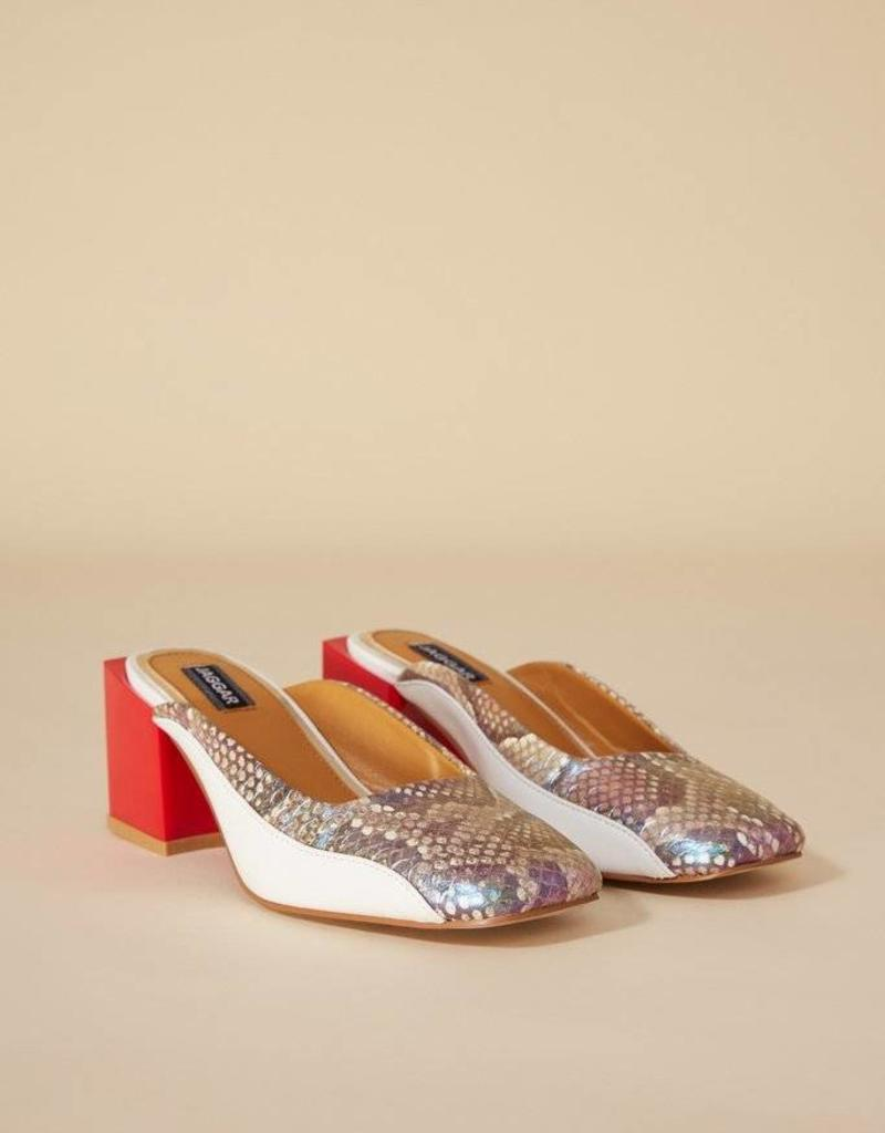 Jaggar Exotic Snake Heel