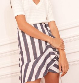 Fifth Label Sequence Stripe Skirt