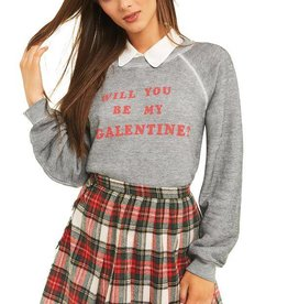 Wildfox Be My Galentine Sommers Sweater