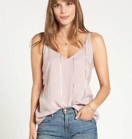Bella Dahl Stripe Stamped V-Neck Cami